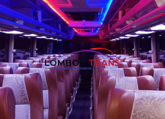 interior big bus lomboktrans
