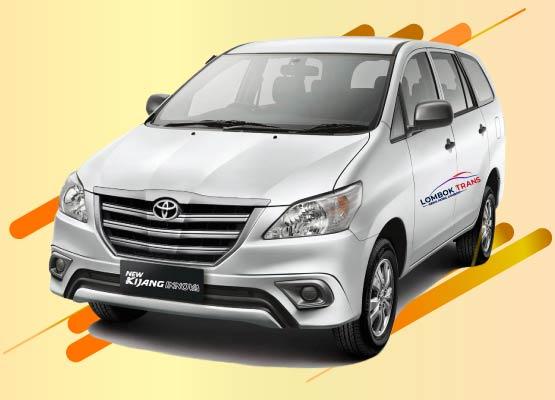 sewa mobil all new innova lombok