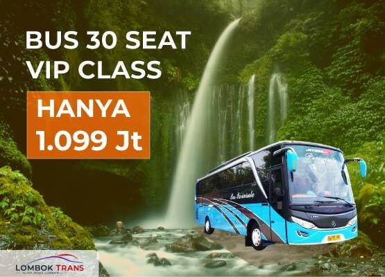 sewa bus wisata lombok